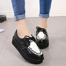 Women Casual Shoes Creepers Women