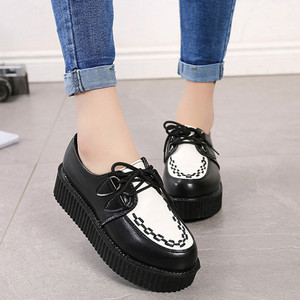 Women Casual Shoes Creepers Wo