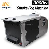 Nova 3000 W Baixas Terra Fumaça Máquina de Fumaça de Controle Remoto