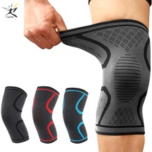 Knee Pads Fitness Running Cycling Knee Protector Basketball Football Sport Safety Kneepad Nylon Elastic Knee Brace Support 1PCS basketball knee pads adult football knee brace support leg sleeve knee protector calf support ski kneepad joelheira sport safety