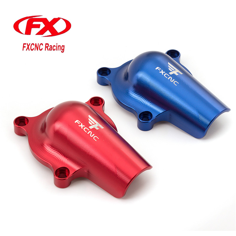 FX CNC Motorcycle Aluminum Water Pump Cover Fit For Yamaha YFM700R 2008 - 2018 2017 2016 2015 2014 2013 2012 2011 2010 2009 for yamaha xt660x 2004 2014 xt660r 2004 2014 xt660z 2008 2014 motorcycle cnc aluminum easy pull clutch cable system
