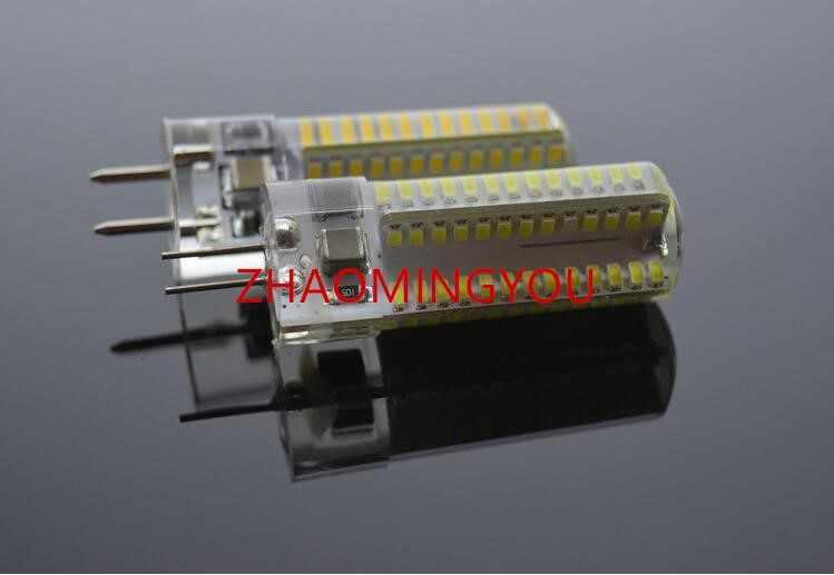 DIMMABLE GY6.35 LED מנורות 110V 220V 12V 9W 12W 15W תירס אור הנורה Droplight נברשת 3014SMD G6.35 Led Bombillas מנורה