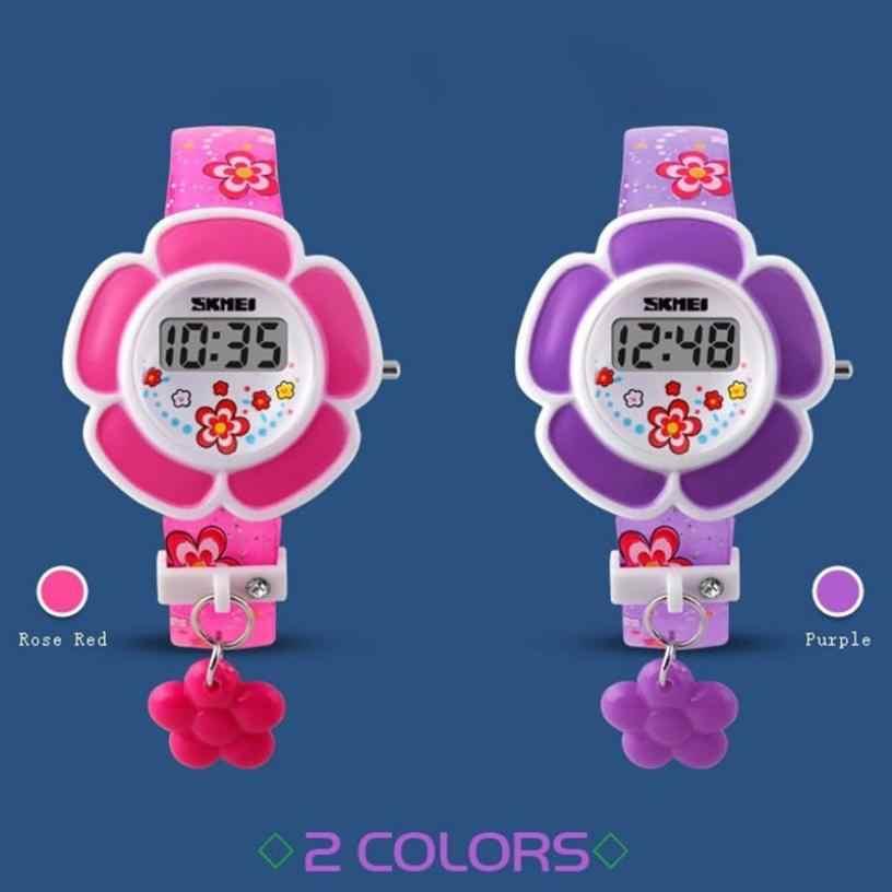 Skmei, модные детские часы, светодиодный, электронные, цифровые часы для девочек, Мультяшные, повседневные, детские часы, Relogio Feminino Reloj Montre
