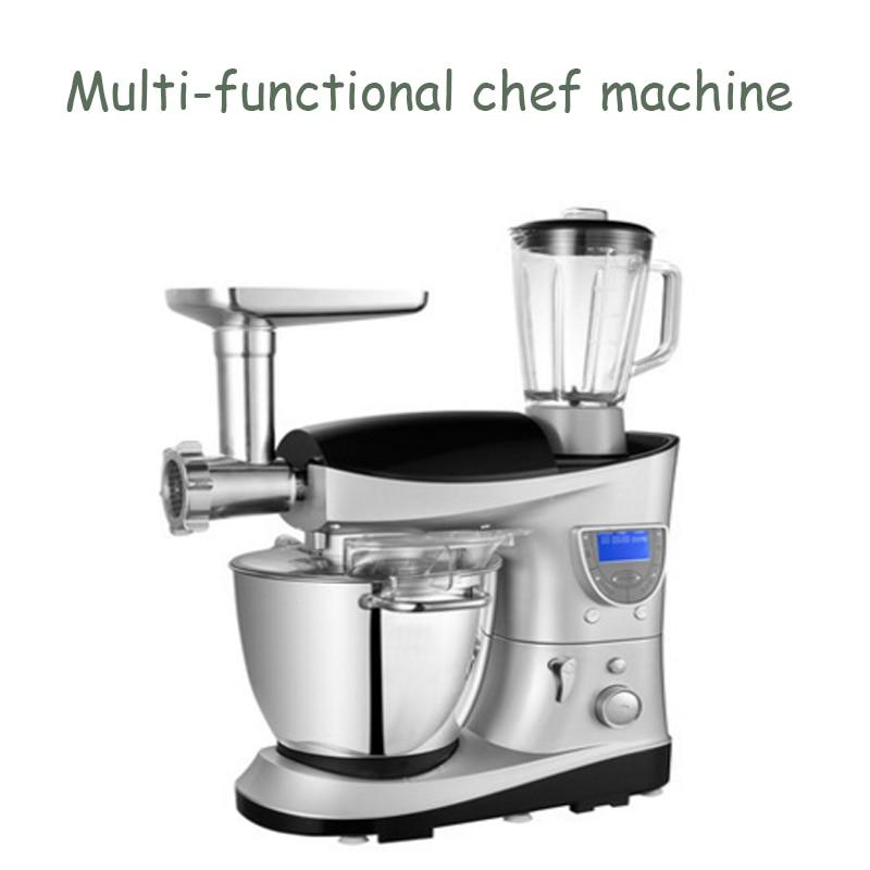 7L Household Dough Maker Multi Functional Chef Machine Mixer /Egg Beater / Meat Grinder / Sausage Filler / Juicer SM 1088