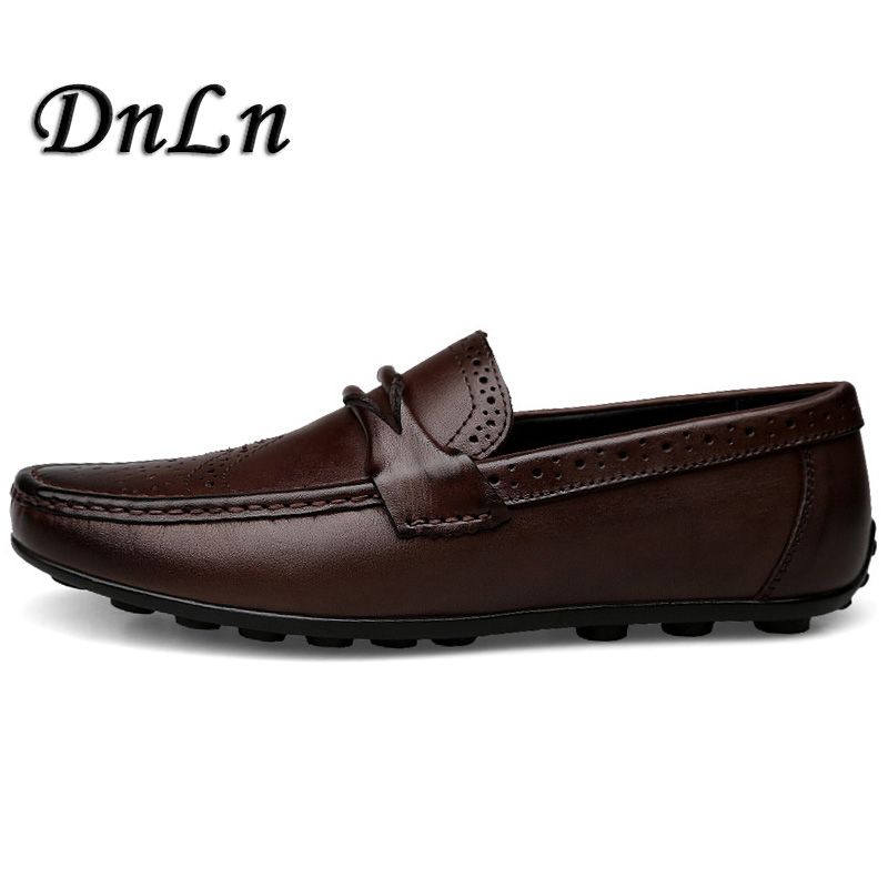 Size 37~47 Luxury Brand Men Shoes New Fashion Men Casual Shoes Bullock Men Trend Driving Doug Loafers Soft Bottom D30 fashion young man red casual shoes men luxury high top toe mens falts british trend flat heel men s loafers shoes