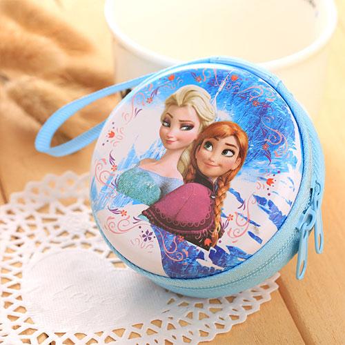 Лидер продаж, кошелек для монет с героями мультфильмов, Эльза, Анна, принцесса, чехол для ключей для девочек, кошелек, детский Снежная королева, гарнитура, сумка для монет - Цвет: C