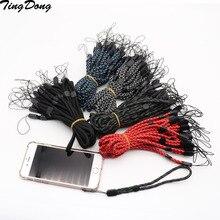 Sangle réglable de lanière de main de téléphone portable pour liphone 8 7 Samsung S9 pour des courroies de poignet courroie de caméra de clés accessoire de téléphone