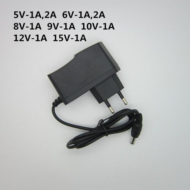 1x AC 110-240 V DC 5 V 6 V 8 V 9 V 10 V 12 V 15 V 0.5 1A 2A 3A adaptateur secteur universel chargeur adaptateur Eu Us pour bande de lumière LED