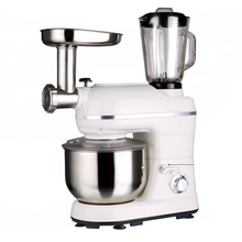 Multi-functional Cooking Machine 5L Dough Mixer Fully Automatic Household Electric Noodle Machine Juicer Blender liquidificador 220v 1000w electric dough mixer professional eggs blender 5l automatic food mixer milkshake cake mixer kneading machine
