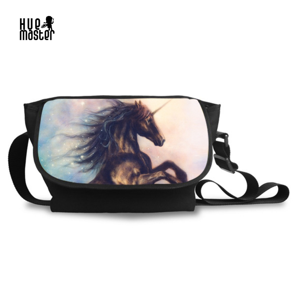 Large Messenger Bags for Men Unicorn Printed Female Canvas Shoulder Bag  High Capacity Cross Body Casual. US  28.99. Travel ... 0e48c0e51925b