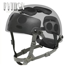 Тактический Быстрый циферблат набор для быстрого шлем MICH(черный/коричневый