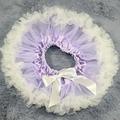 Lila pettiskirt tutu falda suave RECIÉN NACIDO apoyo de la foto del Bebé ropa de verano faldas tutus bebé del tutú de la falda