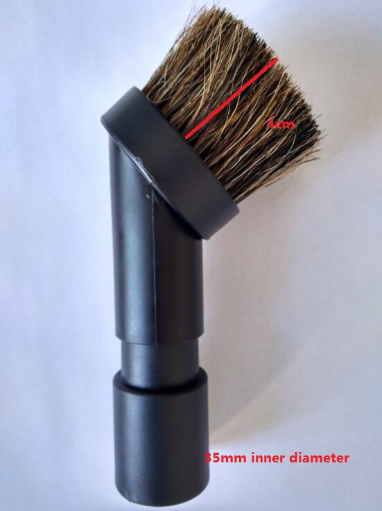 Vacuum cleaner parts 4cm long horse hair round brush 32mm /35mm 60 hanks stallion violin horse hair 7 grams each hank 32 inches in length