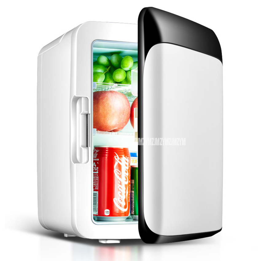 High Quality 10L Auto Fridge 12V Car Mini Refrigerator Heating Function For Household And Car Use Portable Freezer Home Use 220V