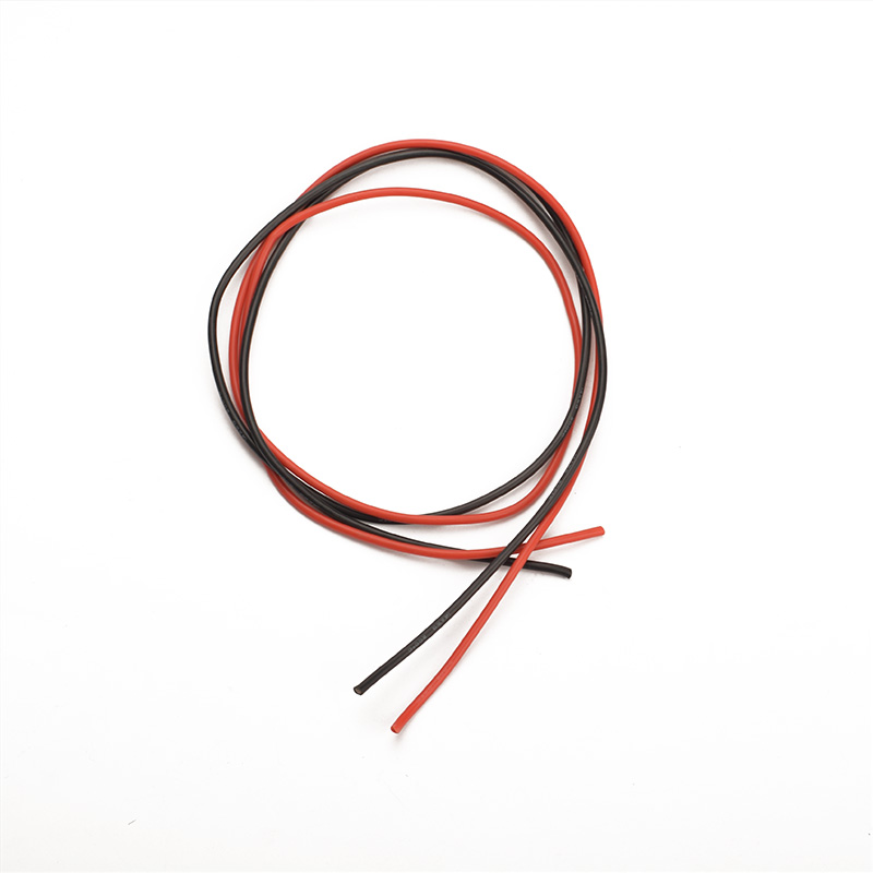 Sunnylife 1 meter Silicon Wire 14 AWG High Voltage Red Black ...