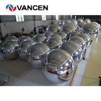 Four color beautiful inflatable mirror sphere for event decoration 1.0m diameter indoor inflatable mirror ball