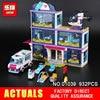 Lepin 01039 932Pcs Genuine The Heartlake Hospital Set Girl Series 41318 Building Blocks Self Locking Bricks