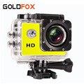 GOLDFOX SJ 4000 Esporte Mini Câmera de Vídeo À Prova D' Água Filmadoras Cam 720 P HD Capacete Da Bicicleta Câmera Fotográfica Ir Pro Carro estilo