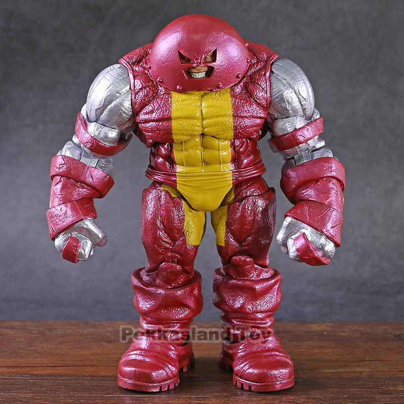 Marvel diamante select dst x-men colosso ferro juggernaut pvc figura de ação collectible modelo brinquedo
