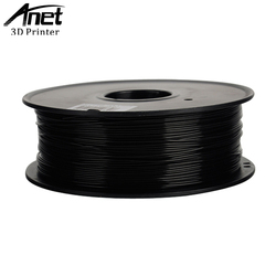 Anet PLA Plastic For 3D Printer ABS Plastic 1.75mm 1KG 340M 3D Printing Material Quality Black White Rubber Consumable Filament