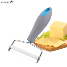 XHRLYLB1pc Plastic Handle Cheese Cut Slicer Stainless Steel Line Butter Scraper Baking Tool Kitchen Accessories.7z