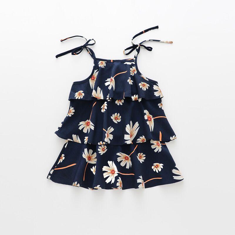 80758170b Summer Kids Dresses For Girls Beach Girls Dress Teenager Cotton ...