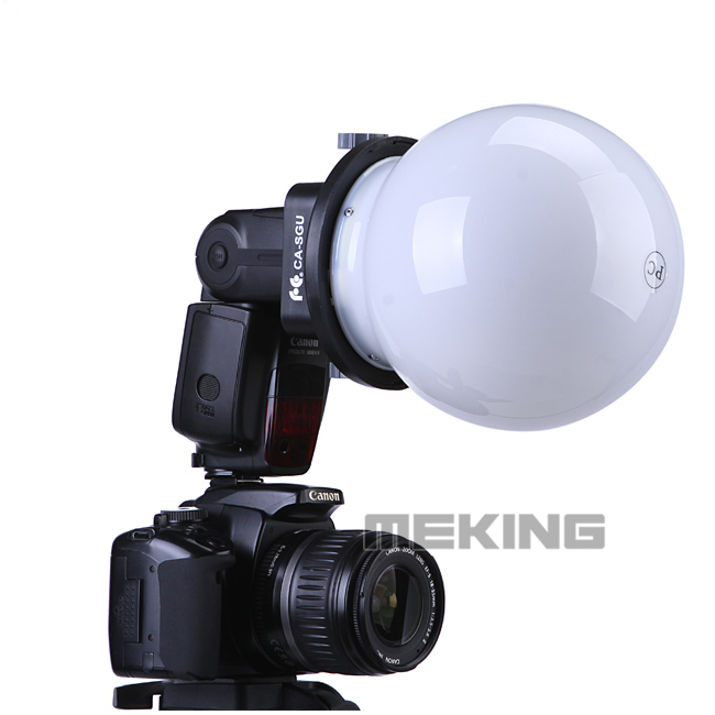 Flash Speedlite K9 / K-9 Grobe Softbox Diffuser Reflector - Camera en foto