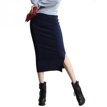 Γυναικεία μακριά φούστα με σκίσιμο 486beef234d