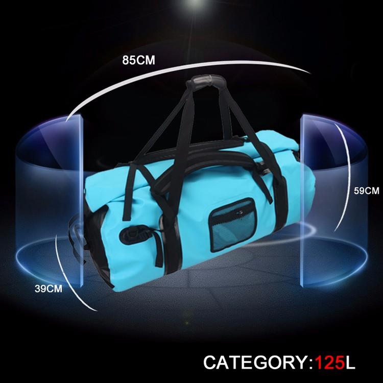 Yespace plus 125L sport bag 500D PVC Tarpaulin Waterproof Gym Sport Bag bolsa depor temochilas deportivas fitness tas bag men