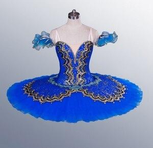 Image 5 - La Esmeralda Frauen Pfannkuchen Ballerina Platter Bühne Kostüm Tutu Röcke Für Erwachsene Professionelle Ballett Tutus Punkt Dance Kostüm