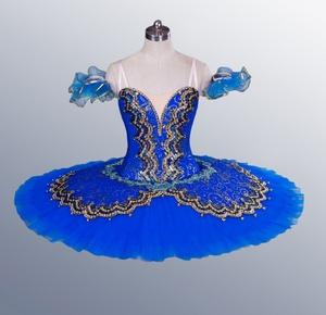 Image 5 - La Esmeralda Women Pancake Ballerina Platter Stage Costume Tutu Skirts For Adult Professional Ballet Tutus Point Dance Costume
