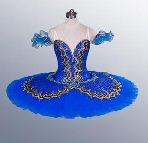 Image 5 - La Esmeralda נשים פנקייק בלרינה מגש שלב תלבושות טוטו חצאיות למבוגרים מקצועי בלט חצאיות טוטו נקודת ריקוד תלבושות