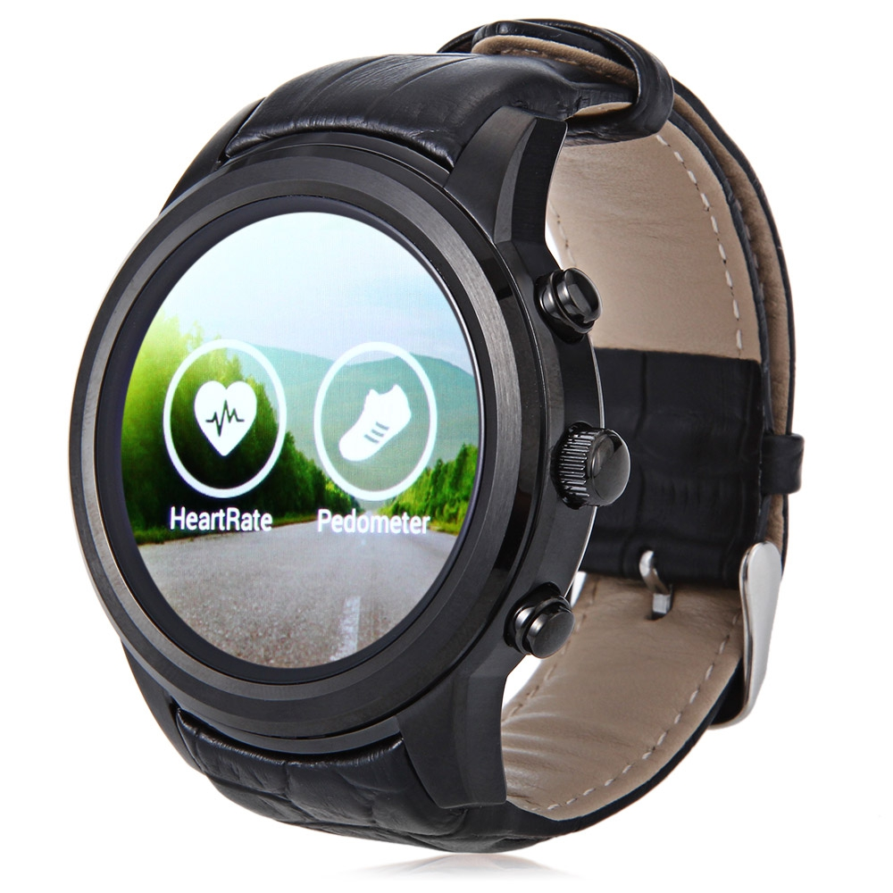 FINOW X5 GPS Bluetooth Heart Rate Monitor Smartwatch Smart watch Phone Android 4 4 Wear MTK6572