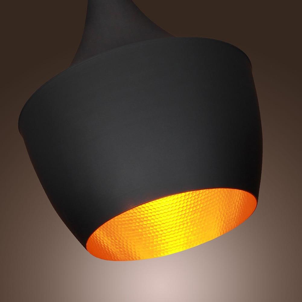 HTB10SR4aQ9WBuNjSspeq6yz5VXaE Vintage Pendant Lights Loft Lamp Nordic Hanging Restaurant Kitchen Light Gold Inner Finish Luminaire Home Industrial Lighting