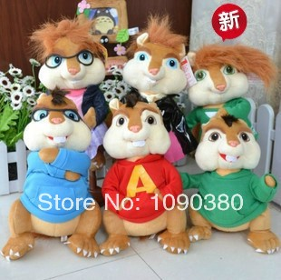 Schöne alvin and the chipmunks plush toys at target speaking