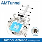 GSM Outdoor Antenna 8dBi Yagi Antenna GSM Booster Antenna CDMA850Mhz External Antenna with10m Cable and N Male for repeater
