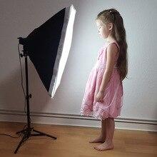 Софтбокс для фотосъемки комплект освещения 50x70 см софтбокс 80 см осветительная стойка для фотостудии набор аксессуаров для фотостудии камера фото