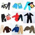 3 sets Doll Outfit Plug Suit / Ball Uniform / army combat uniform / Leasure Wear Clothes Accessories For Barbie Boy Ken Doll