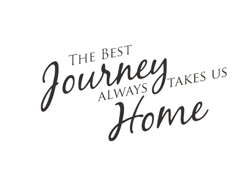 wall art decal sticker quote vinyl large best journeys take us