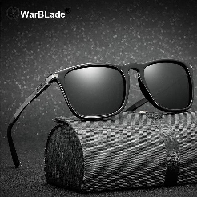 f2765fd9758 WarBLade Brand Ladies Polarized Sunglasses Women Square UV400 Sun Glasses  Vintage Retro Black Shades Small Face