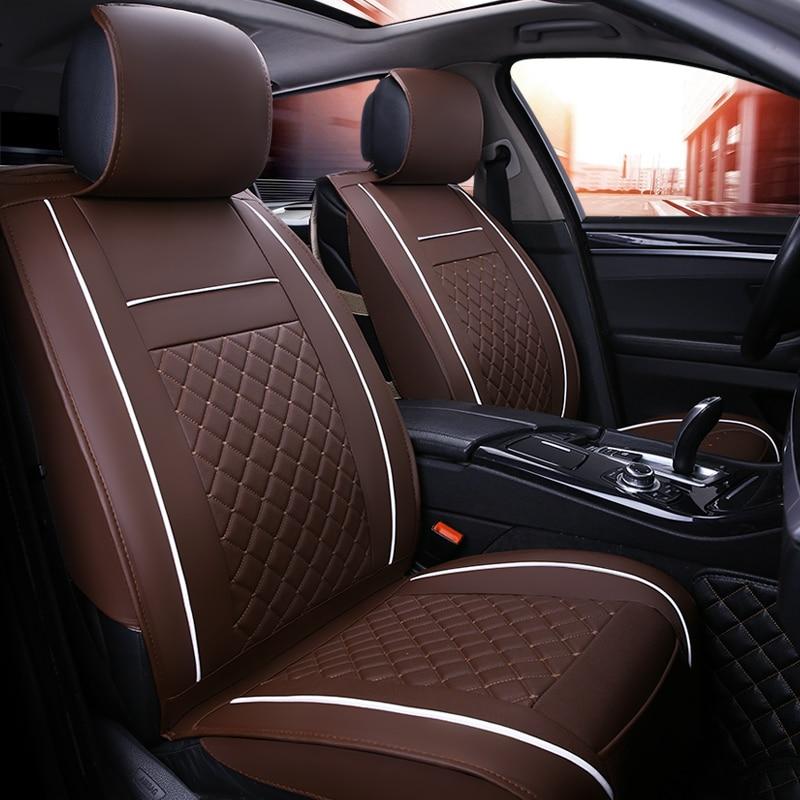 i20 i30 Universal Eco-Leather Full Set Car Seat Covers Hyundai i10