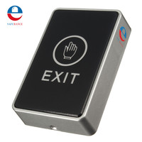 Push Touch Exit Button Door Eixt Release Button For Access Control System Suitable For Home Security