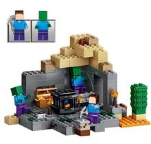 LELE BELA My world Minecraft Dungeon 237pcs Building Blocks Assemble Figure Enlighten Bricks Toys 5staregoly