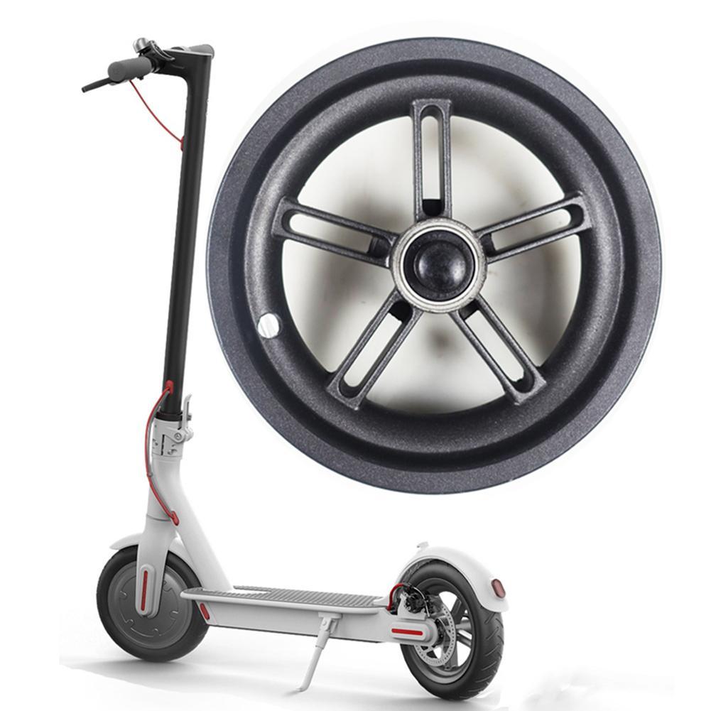 Image 2 - Новый электрический скутер прочный для центрального движения колеса Алюминий Сталь ступица заднего колеса с ось для Xiaomi M365 аксессуары для электрического скутера-in Скейтборд from Спорт и развлечения
