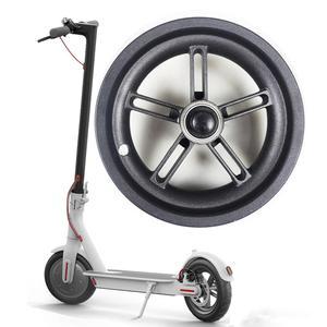 Image 2 - Nuevo Scooter Eléctrico Durable cubo de rueda de acero de aluminio cubo de rueda trasera con eje para Xiaomi M365 accesorios de Scooter eléctrico