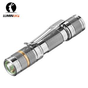 Image 1 - LUMINTOP Tool Ti AAA mini zaklamp met Cree en Nichia 219CT LED Titanium zaklamp Max 34 Meter Beam Afstand 110 lumen