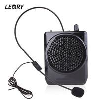 LEORY N74 15 W Draagbare Luidspreker Voice Versterker Tailleband Microfoon Speaker Voor Onderwijs Guiding Propaganda Megafoon