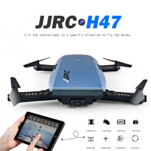 Newest JJRC H47 ELFIE 720P HD FPV Wifi Camera Rc Quadcoper Foldable Arm Selfie Drone Gravity Sensing Control VS Eachine E56 Dron(China)