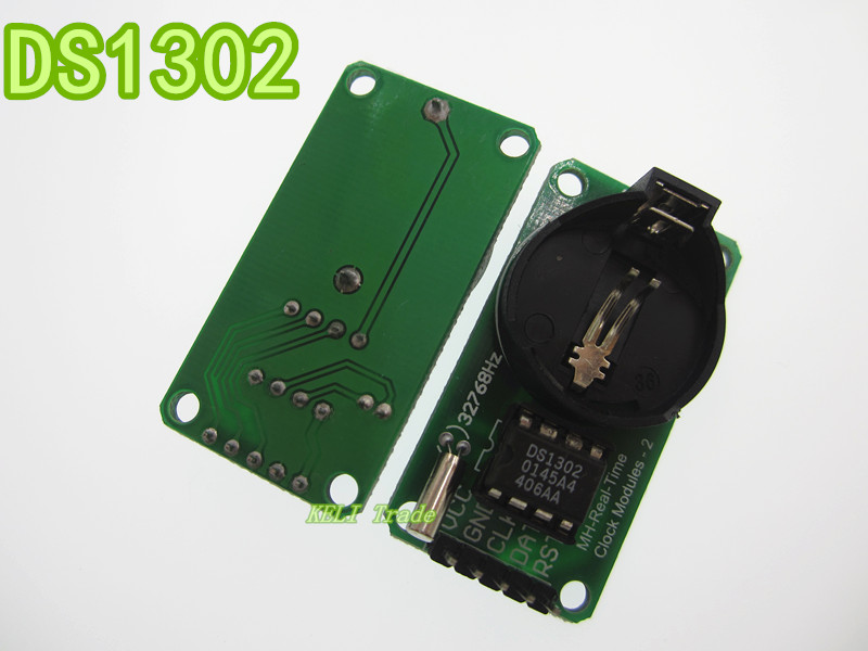 Module DS1302 real time clock module without battery CR2032 in stock цена и фото