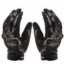 цена на New 3D Breathable Motorcycle Gloves Moto Off Road Sport Motocross Glove Motorbike Full Finger Touch Screen Gloves
